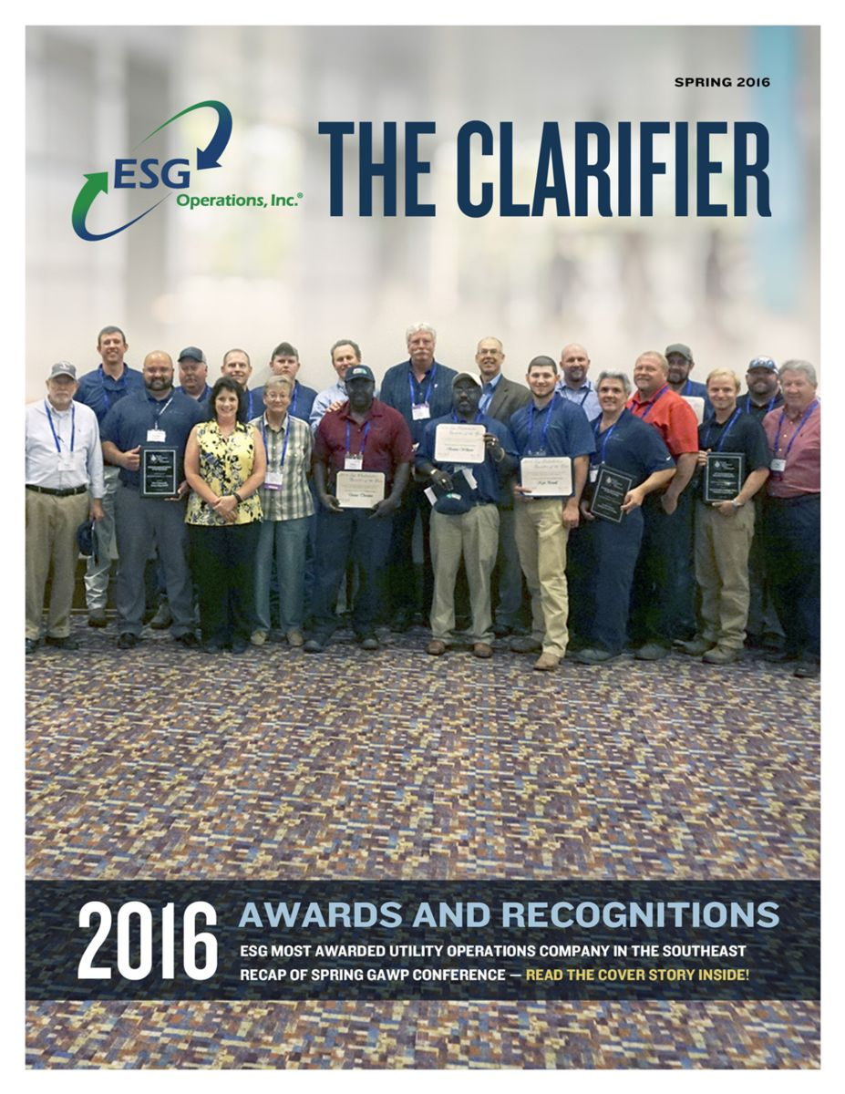 The Clarifier Spring 2016